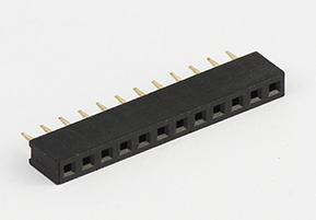 PH2.54mm   单排  DIP 排母1*12P